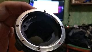 Тестирование Viltrox EF-NEX IV Sony A7 + Canon 35-105 , 70-210
