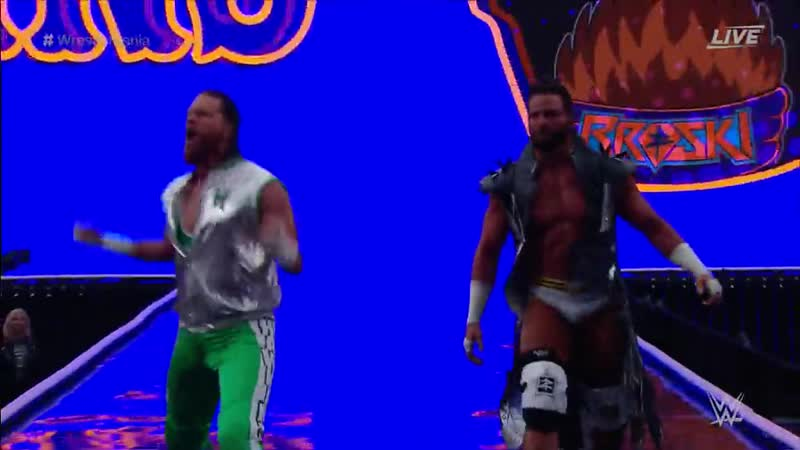 WH Raw Tag Team with Curt Hawskins WrestleMania 35 Kick Off 07 04 19