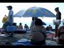Крым, Рыбачье, пляж. Самосы Черного моря. Июнь 2012