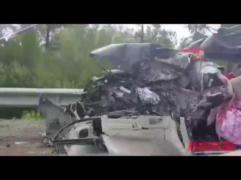 Сильная авария с погибшими на федеральной трассе «Амур»
