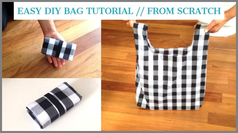 DIY BAG TOTE BAG HANDMADE SHOPPING BAG bolsa diy bolsa de bricolaje coudre un sac DIYバッグ ถุงหิ้วผ้า