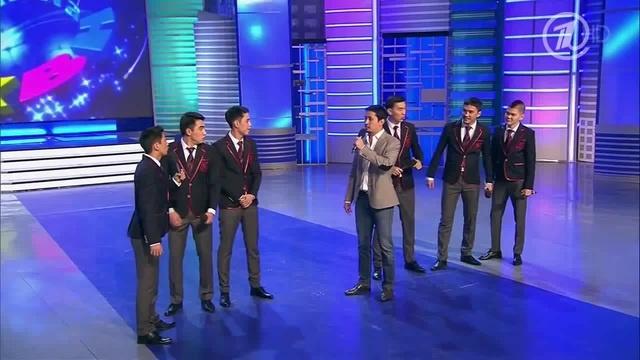 КВН Азия Микс - 2014 Высшая лига Вторая 1/8 Приветствие