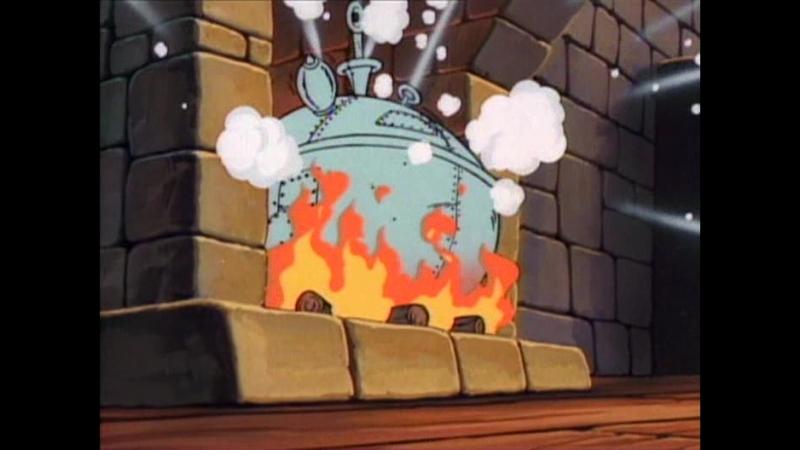 Приключения Мишек Гамми (3x01) Too Many Cooks ~ Just a Tad Smarte(перевод студии Пифагор)r