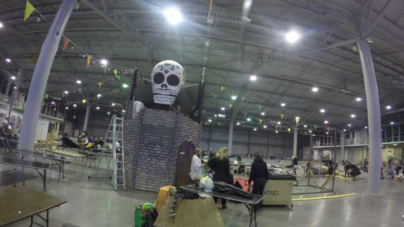 Старкон- хеллоуин 2018. Демонтаж