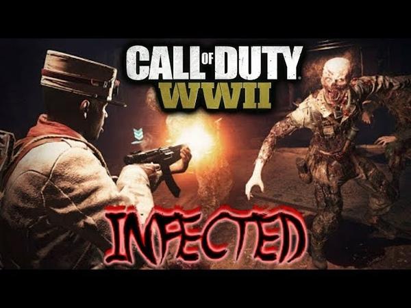 INFECTED NOVO MODO DE JOGO CALL OF DUTY WW2