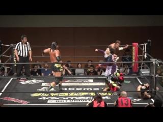 Emi Sakura, Matsuno, Brahman Brothers Chupacabra vs. Sanshiro Takagi, Kazuki Hirata, Toru Owashi, Saki Akai, Gota Ihashi (DDT -