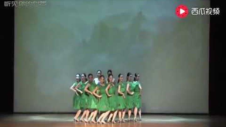 Китайский танец с быстрым переодеванием