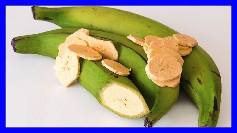 Plátano Macho, Plátano Verde, Súper Alimento que Combate la Diabetes y el Cáncer de Colón