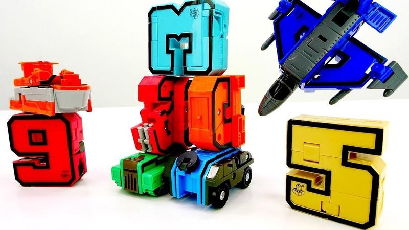 Transformers oyunu. Transbotlar sayılardan arabalar ve uçaklar