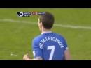 Данияр Билялетдинов Эвертон мяч в ворота Манчестер Юнайтед