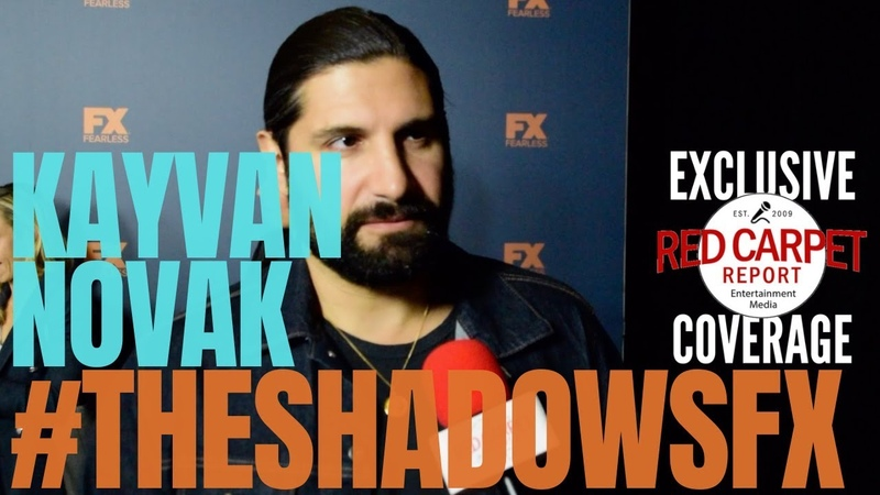 Kayvan Novak interviewed at FXNetworks TCA2019 Starwalk Red Carpet TheShadowsFX WeAskMore