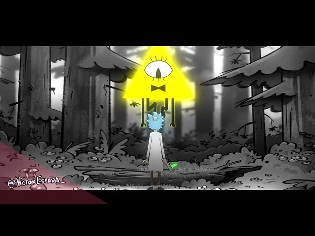 Rick and Morty Gravity falls [MASHUP INTRO THEME]