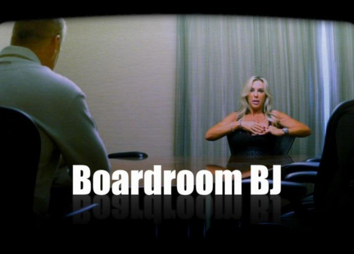 Boardroom Blowjob