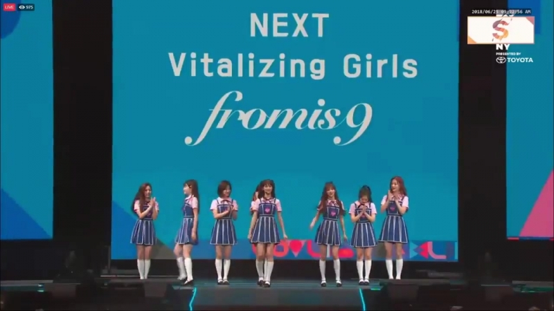 Fromis 9's covers