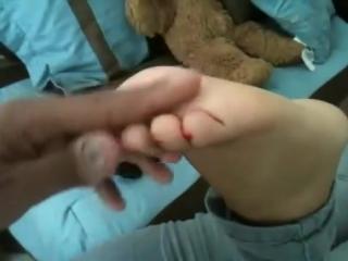 Soft Ticklish Redbone Feet