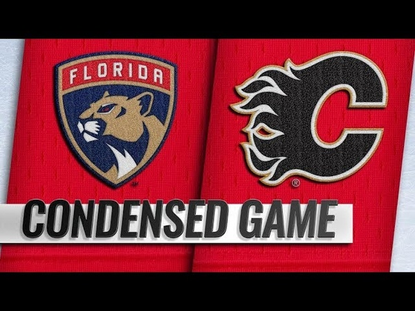 Florida Panthers vs Calgary Flames Jan 11 2019 Game Highlights NHL 2018 19 Обзор матча