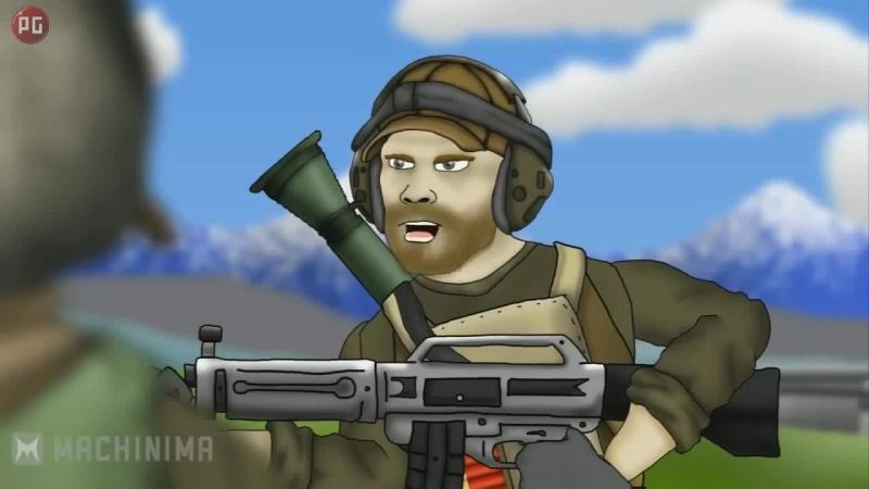 Друзья по Battlefield 3) USAS 12 Фраги