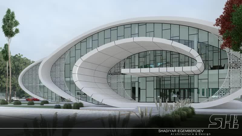 БИБЛИОТЕКА в г. ТУРКЕСТАНА \SHE\Architecturedesign\2019