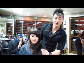 Guy Tang at ISSE hair show in Long Beach CA (PART 2) Model Prep