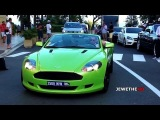 Supercars in Monaco (Part 3) - MANSORY Panamera, GREEN DB9 and More!! (1080p Full HD)