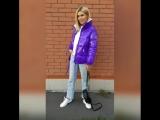 Фиолетовая куртка