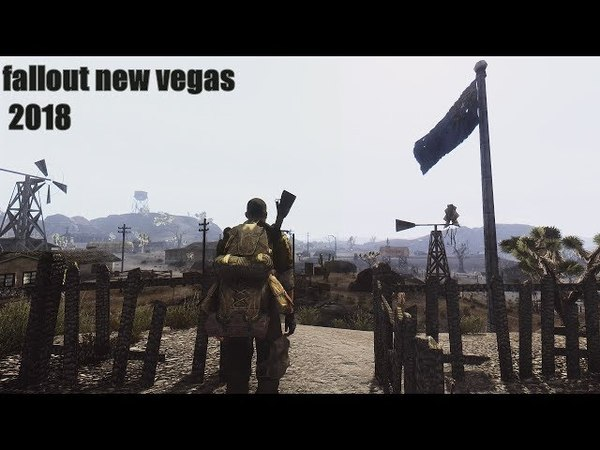 Fallout New Vegas Remastered Edition 2018 - Gameplay 4k