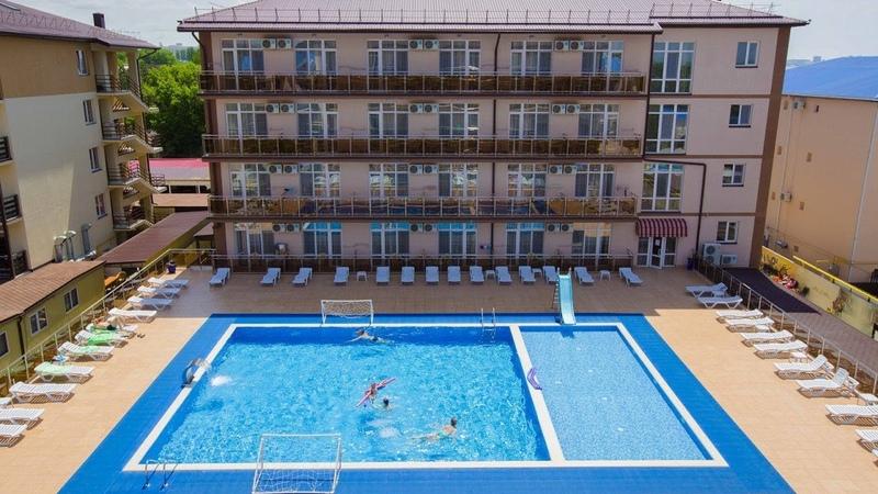 Отель «Гранд Прибой», Анапа