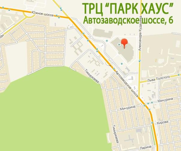 """""""Парк Хаус"""" на карте г."""