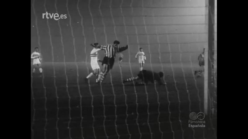28 ECCC-1956/1957 Budapest Honved SE - Athletic Bilbao 3:3 (20.12.1956) HL
