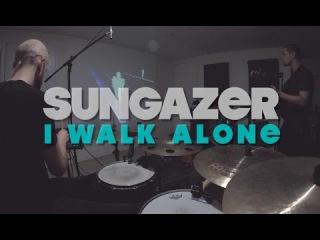 Sungazer - I Walk Alone [Roland SPD-SX MIDI-controlled visuals + iPad glitch]