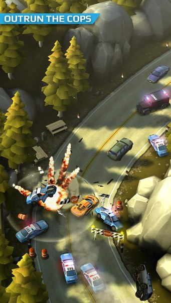 Скачать Smash Bandits Racing для android