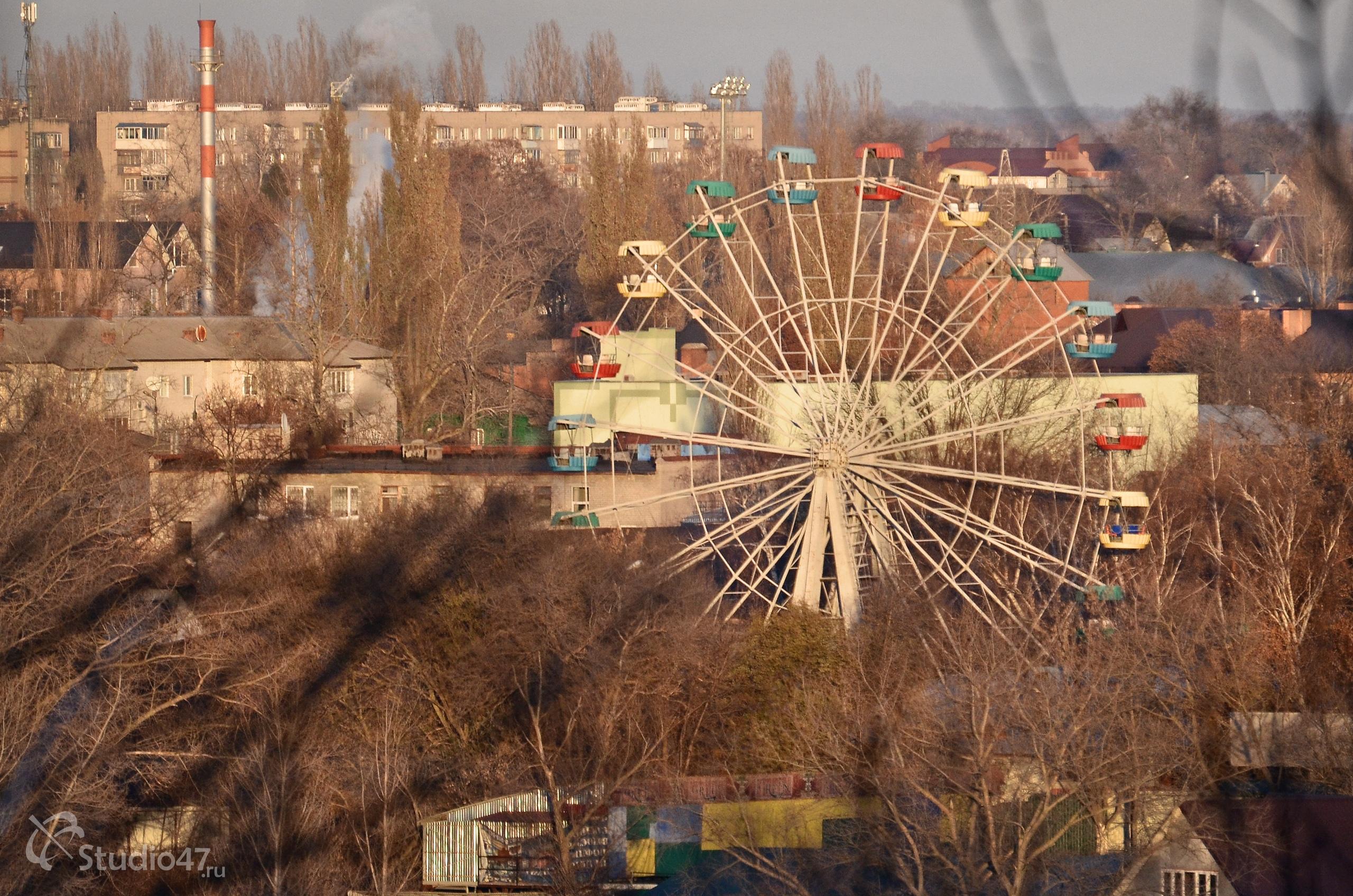 Чёртово колесо в Борисоглебске