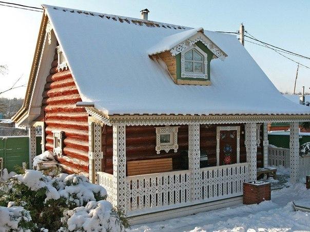 Какой красивый домик!