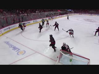 Panarin's shot finds twine      jan 4, 2019