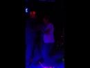 Salsa dance party cafe bar club night