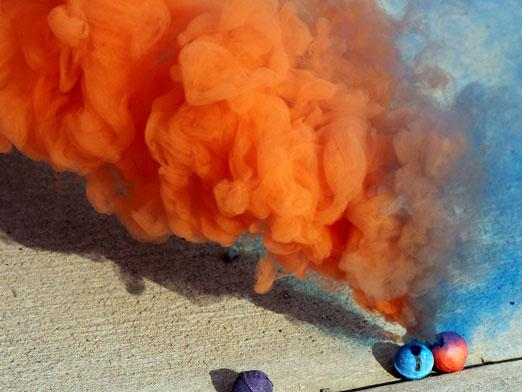 Как сделать дымовое вещество