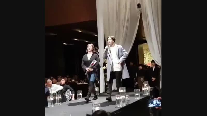свадьба стаффа JYP Entertainment