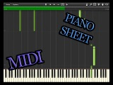 3R2- Angelic Sphere (Arranged by Dm Piano) + MIDI and piano sheet