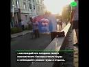 Разбитая дорогая помешала агитации за Единую Россию