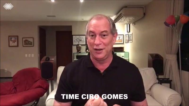 Ciro Gomes explica atuação durante o segundo turno da eleição presidencial de 2018