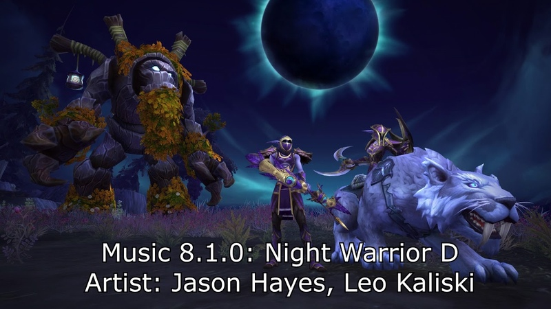 Night Warrior - Tides of Vengeance Soundtrack 8.1