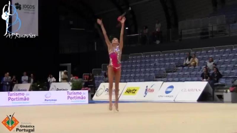 Александра Скубова булавы Международный турнир юниорок Портимао,Португалия 2018