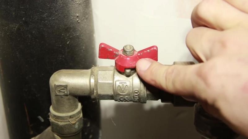 Заклинил шаровый кран, как перекрыть _ Jammed ball valve, how to block