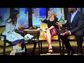 Zooey Deschanel on Live With Kelly & Michael (Part 1)