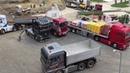 RC Truck Action Glashaus Fun @ Modellbaustelle Wachau 2016