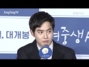 180514 Suho на Press Conference фильма 'Middle School Girl'