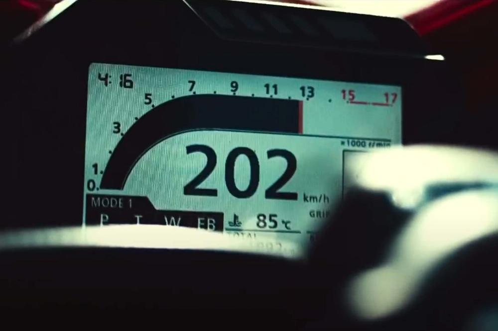 Первые фото и видео Honda CBR600RR