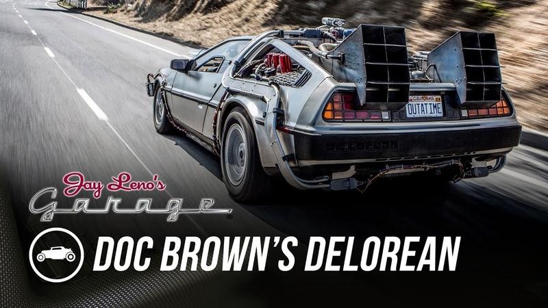 Doc Brown's DeLorean - Jay Lenos Garage