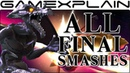 All Final Smashes in Super Smash Bros. Ultimate ( Dialog Differences!)