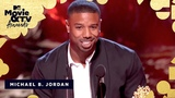 Michael B. Jordan Accepts the Award for Best Villain 2018 MTV Movie &amp TV Awards